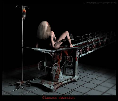 Dark Art 172 (Glamour abortion)